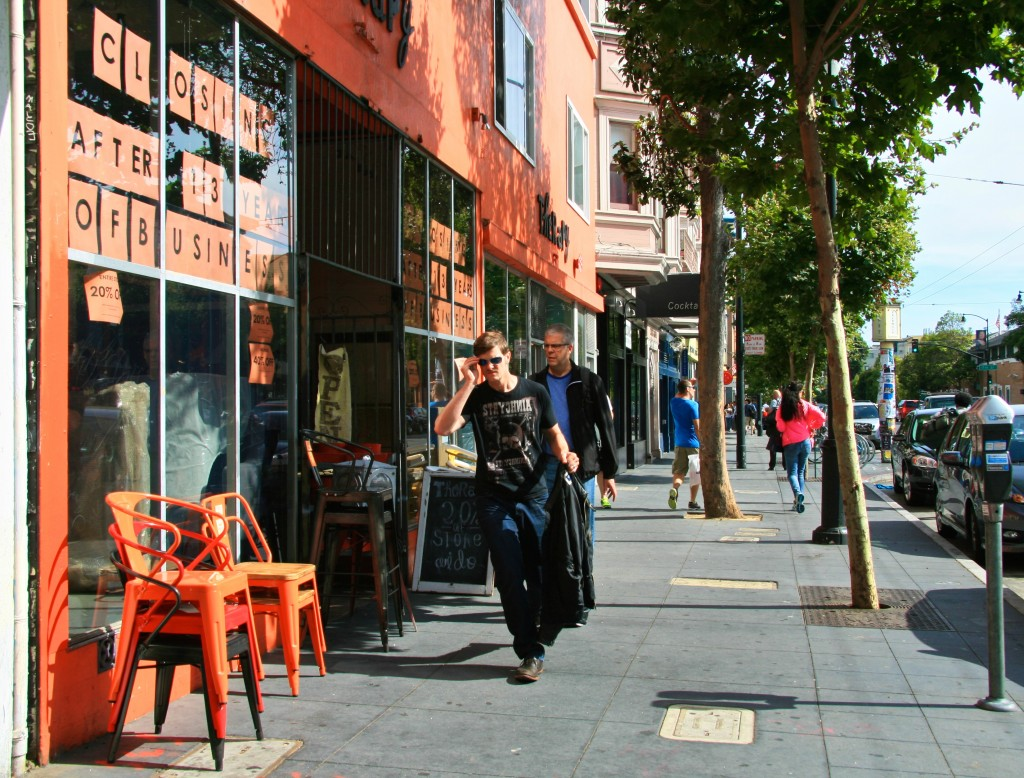 Mission furniture store closing after 30 years, San Francisco, California.