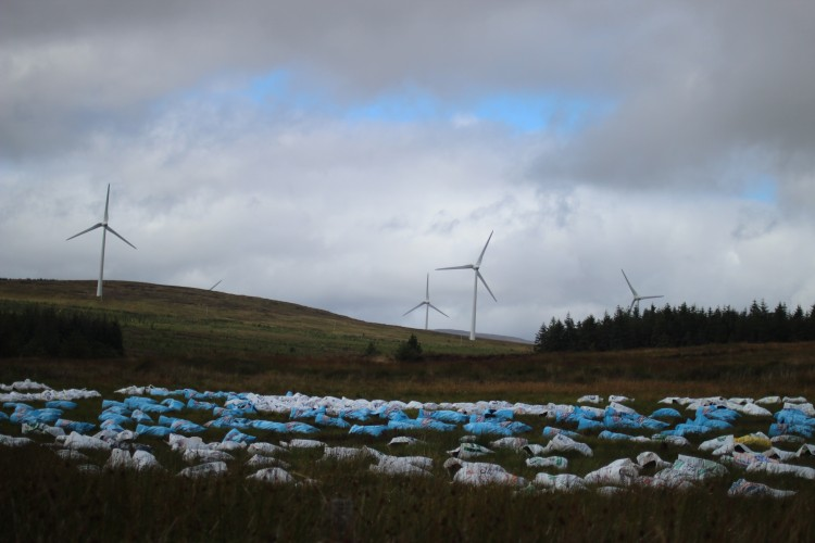 Wind Farms in Galway, Ireland