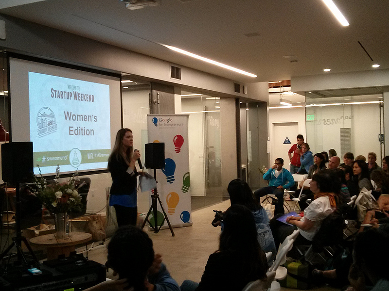 An example of the Google for Entrepreneurs Startup Weekend event