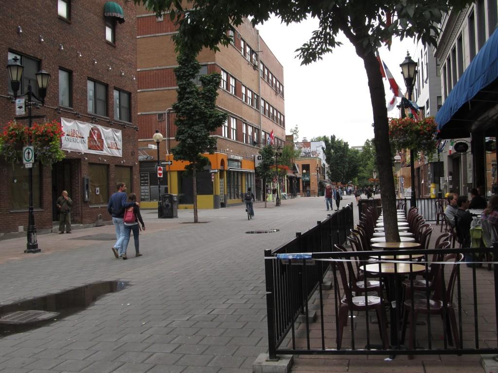 Prince Arthur Street, Montreal, Canada