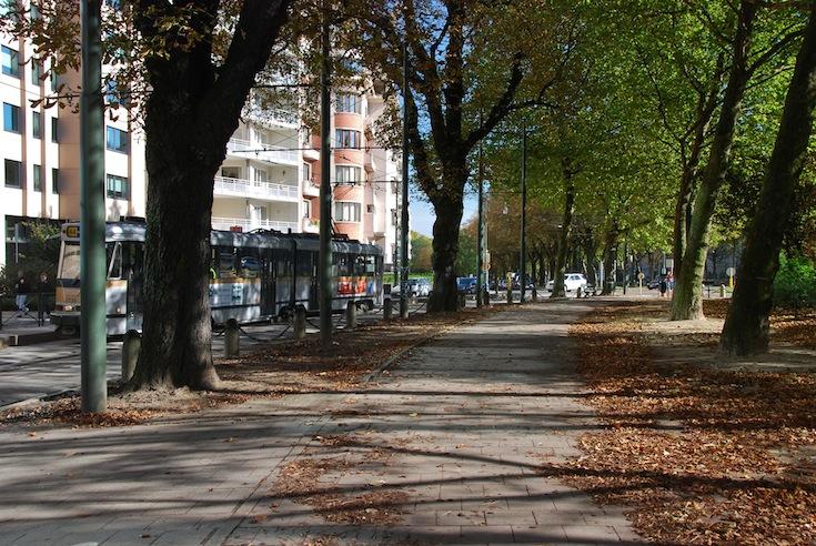 Leopold Square in Brussels, Belgium