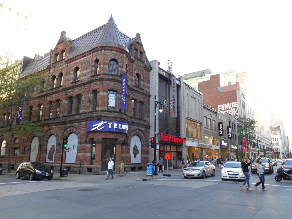 Rue Sainte-Catherine Ouest, Montreal