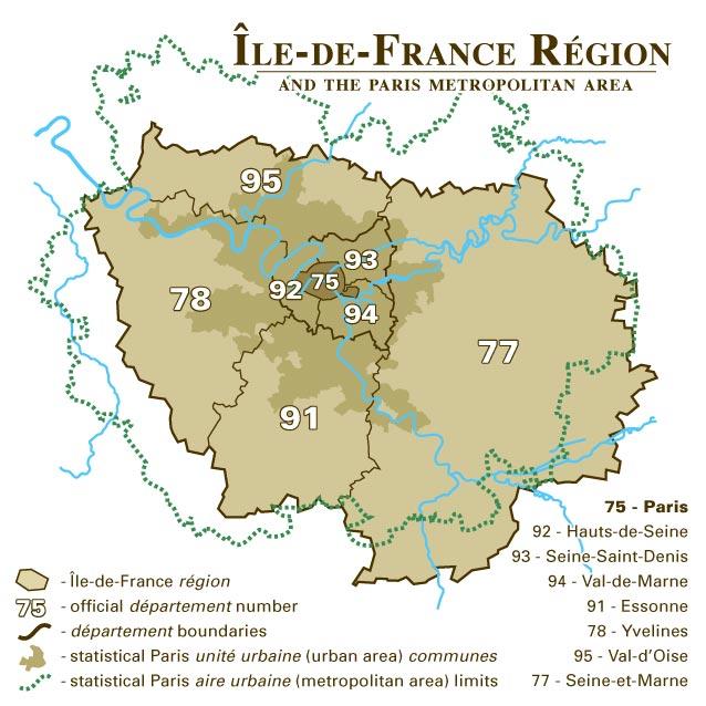 Ile de France, France