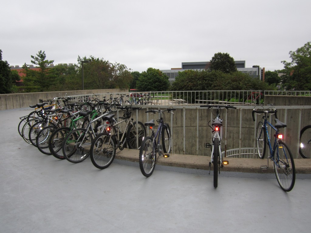Bicycles in Ames, Iowa