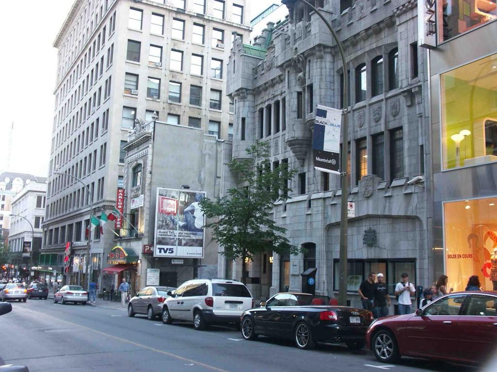 Peel Street, Montreal, Quebec, Canada