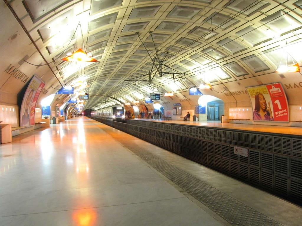 RER station, Ile-de-France, Paris, France