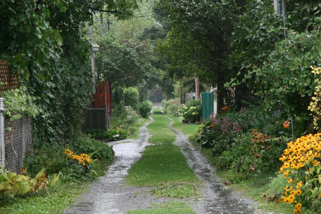 Ruelle Verde Montreal, Quebec, Canada