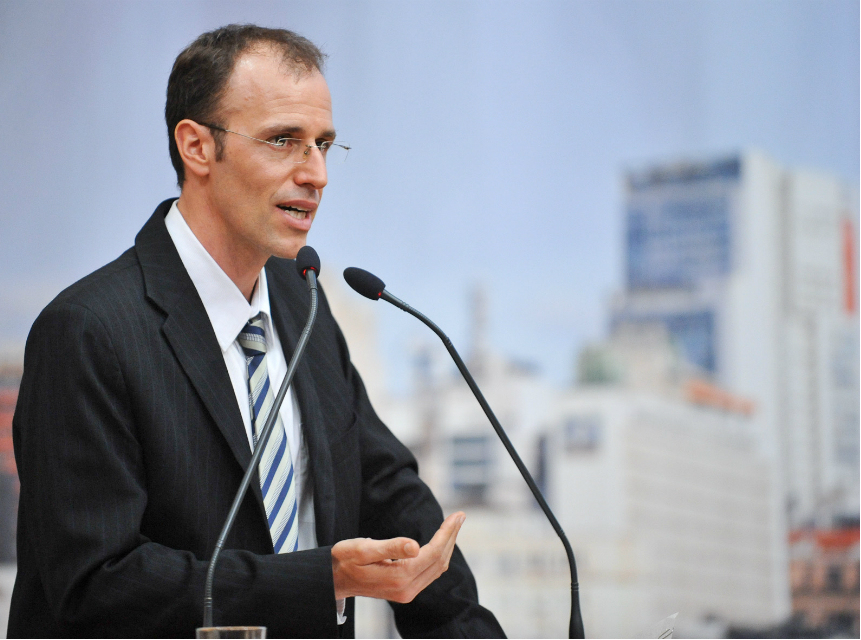 Marcelo Sgarbossa, a councilman in Porto Alegre, Brazil