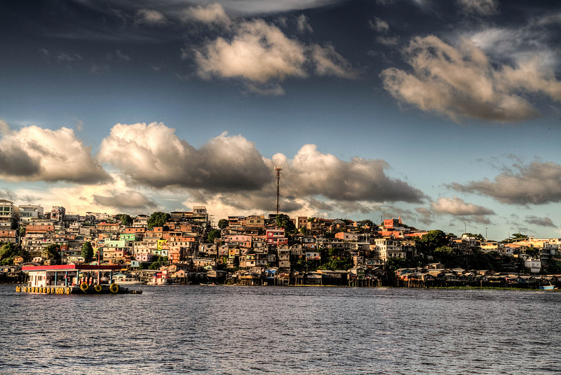 A view of the city of Manaus, Brazil.