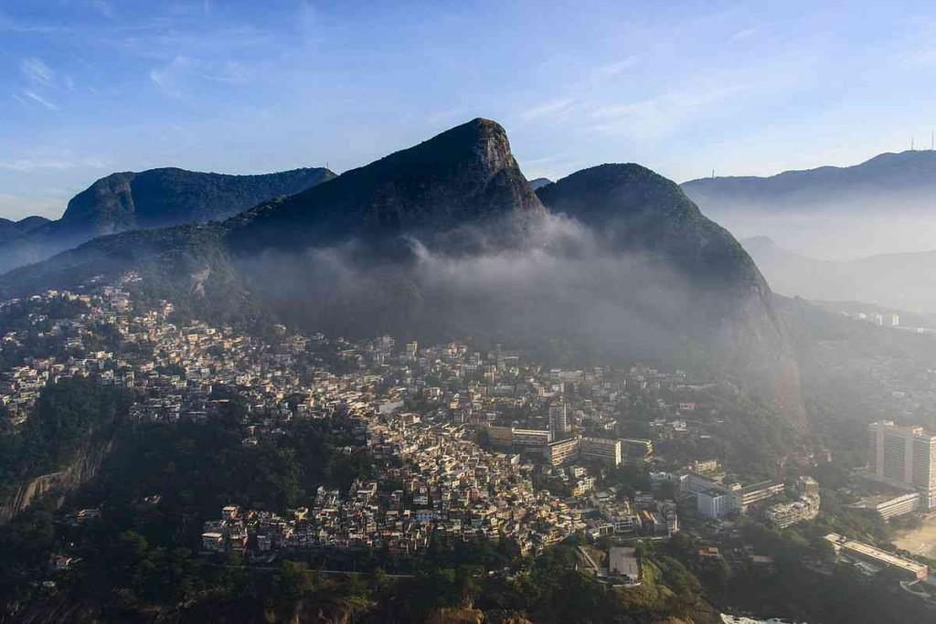 Vidigal Favela, Rio de Janeiro, Brazil