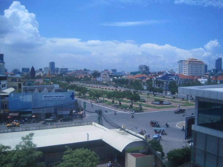 Phnom Penh, Cambodia green space