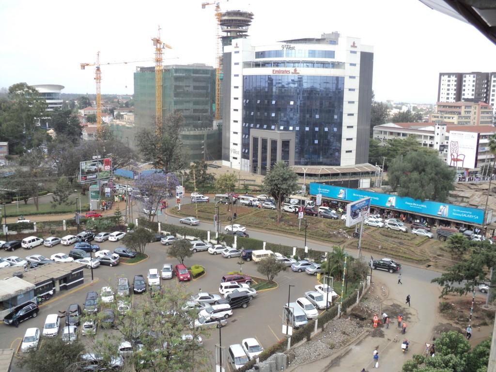 Traffic Jams and Road Repairs in the City of Nairobi, Kenya