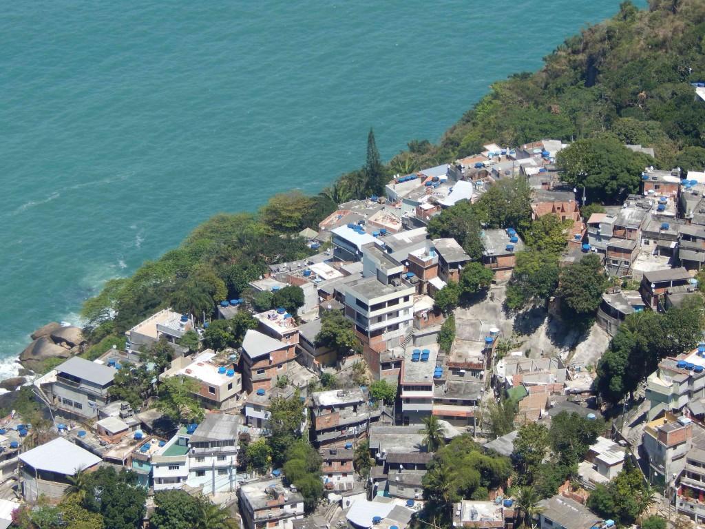 Favela de Vidigal, Vidigal Favela in Rio de Janeiro, Brazil