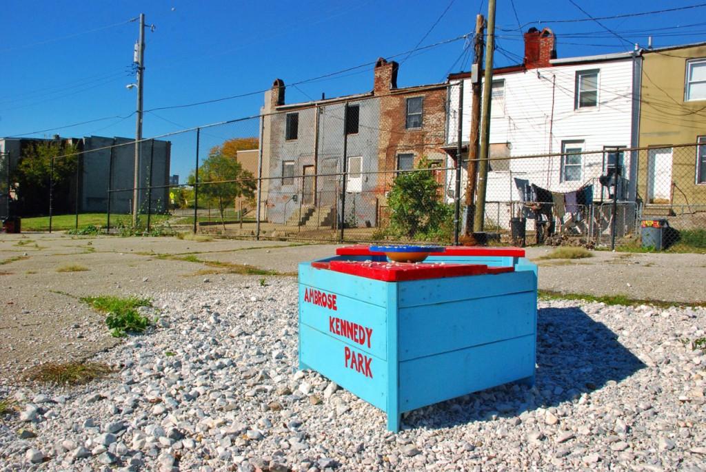 Ambrose Kennedy Park, Johnston Square, Baltimore City, Maryland