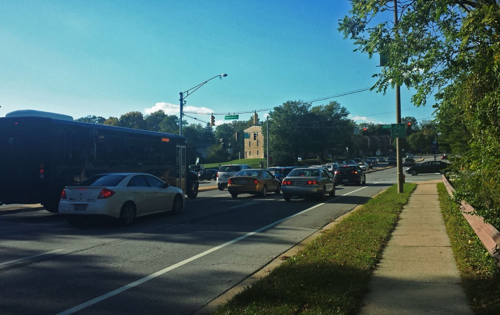 Towson Shuttle and Traffic, Baltimore, Maryland