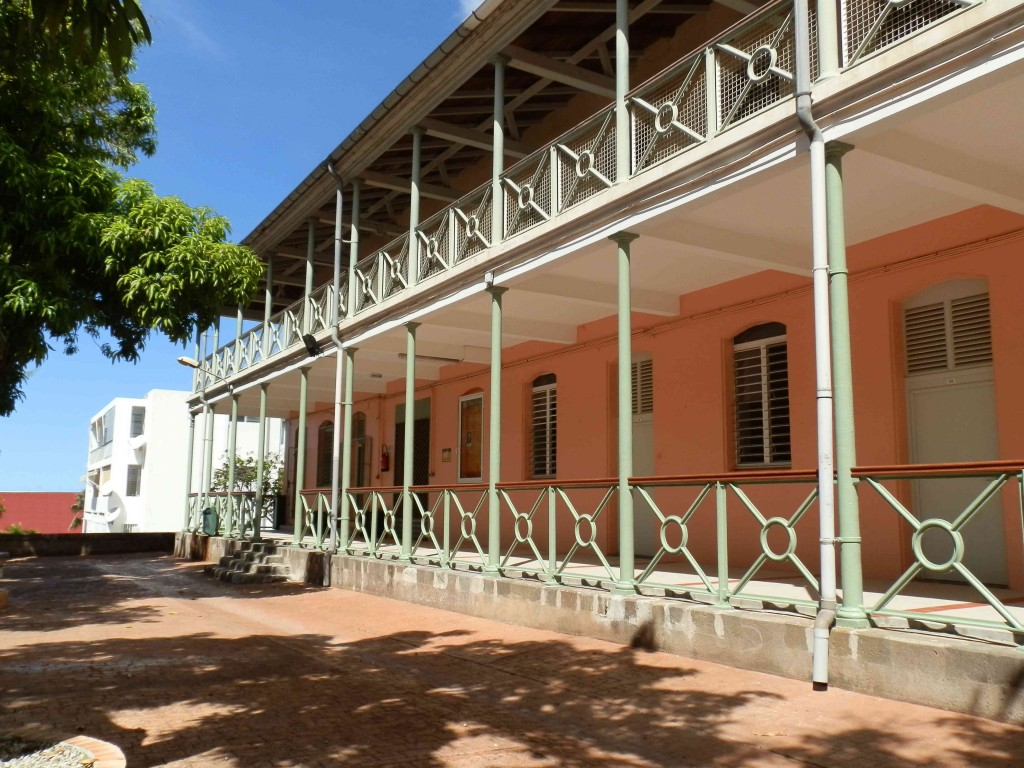 Lycée Gerville Réache, Rue de la République, Gerville-Reache High School in Guadeloupe, Carribbean