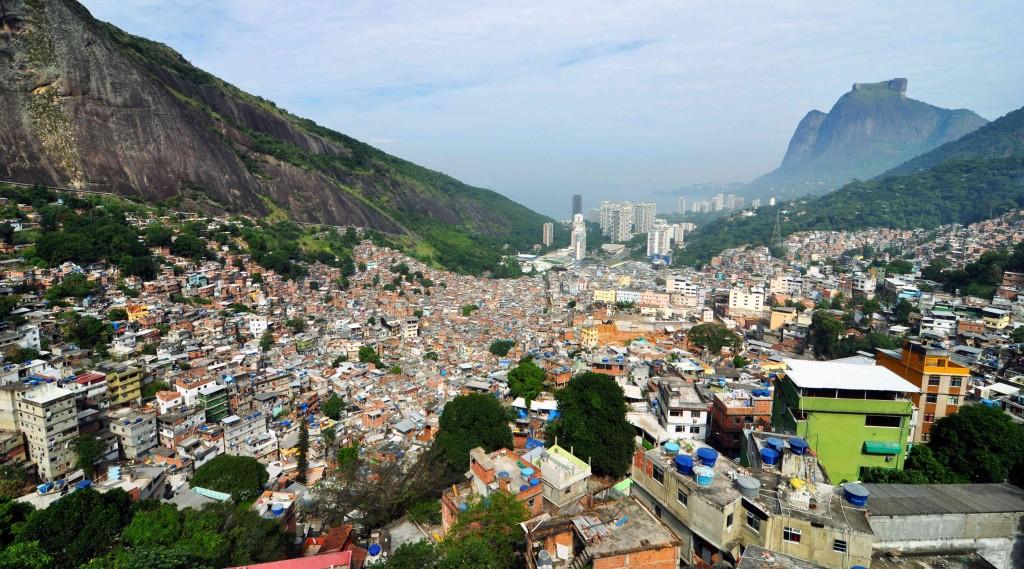 Rocinha Favela Rio de Janeiro, Brazil