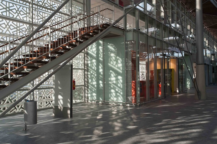 The interior of the new Casa-Port station in Casablanca, Morocco. Credit: Christophe Iliou.