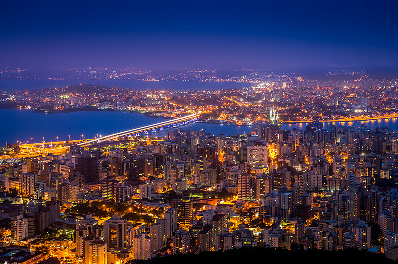 View of Florianopolis, Brazil.