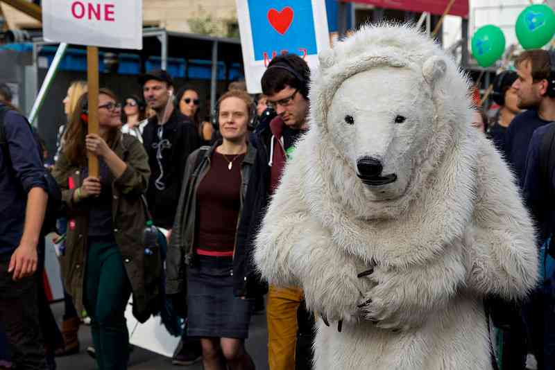 People's Climate March, Berlin, Germany