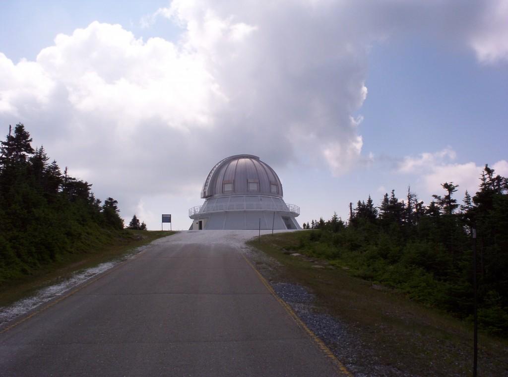Mont Megantic observatory, Magog, Quebec