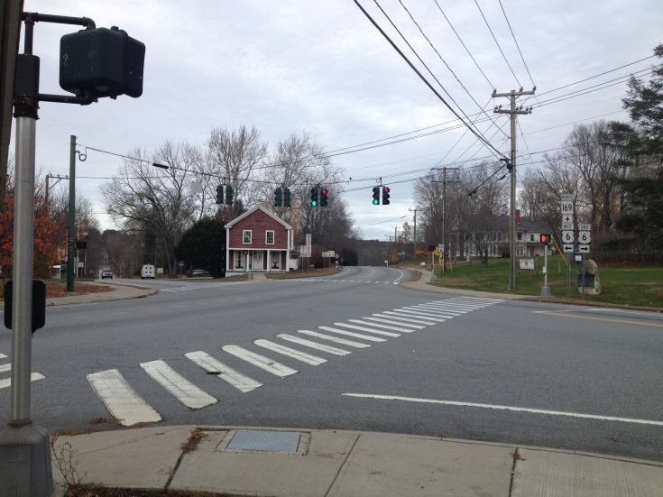 Route 169 & Route 6 Intersection; Brooklyn, Connecticut