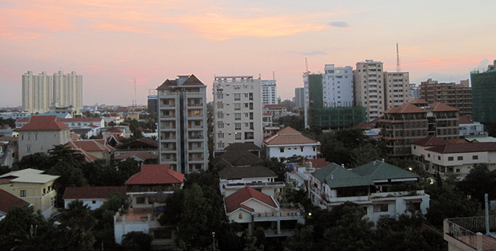 Phnom Penh's skyline of corruption, Cambodia