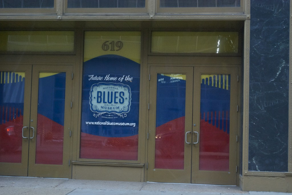 Doors for the new National Blues Museum, St. Louis, Missouri