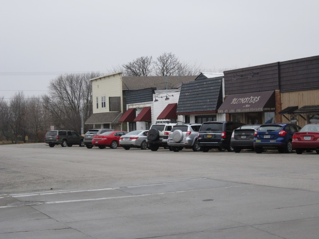 Main Street in Huxley, Iowa