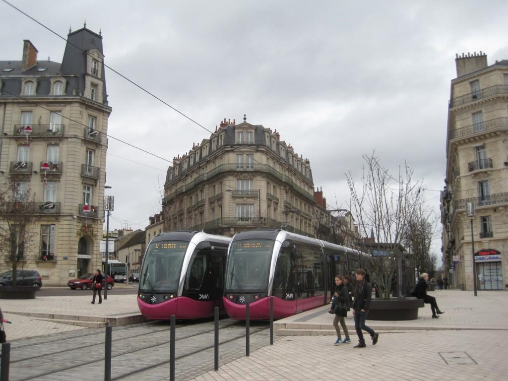 Place Darcy, City of Dijon, France