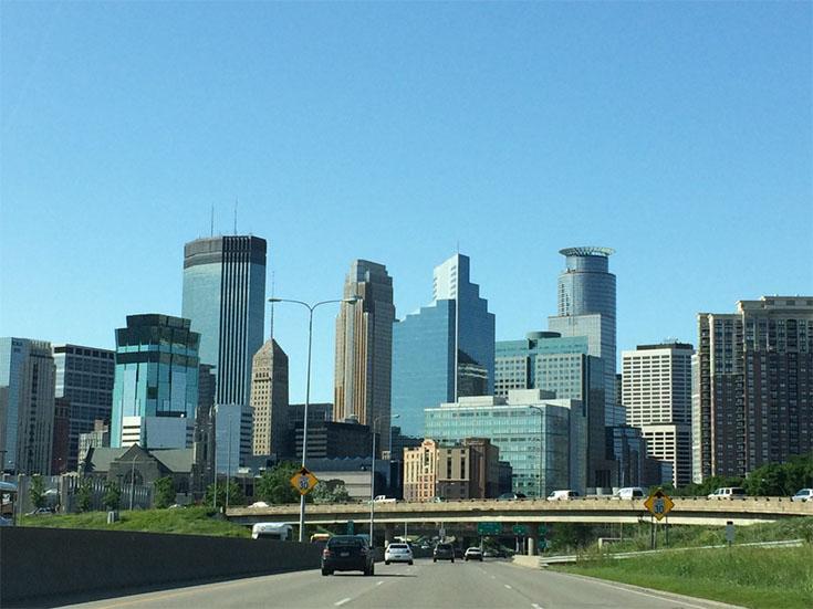 Minneapolis Skyline, Minneapolis, Minnesota
