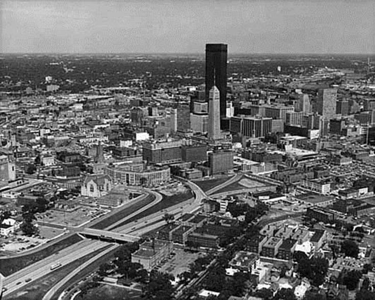 Minneapolis Skyline in 1972, Minneapolis, Minnesota
