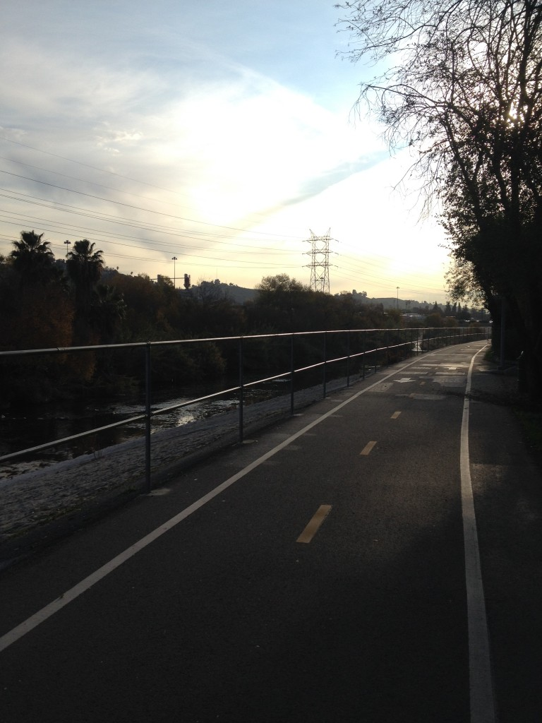 Pathway along the LA River, Los Angeles River