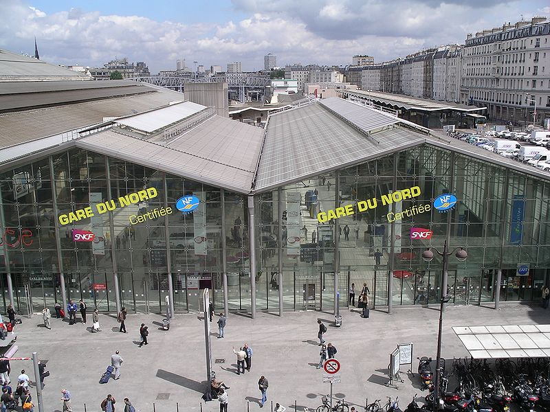Paris, France Gare du Nord