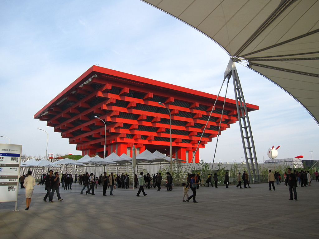 Chinese Pavilion Expo 2010