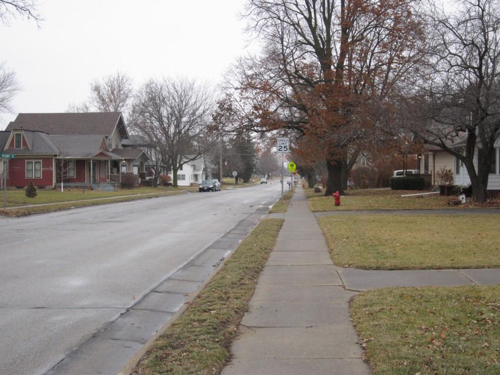 Small town in Iowa