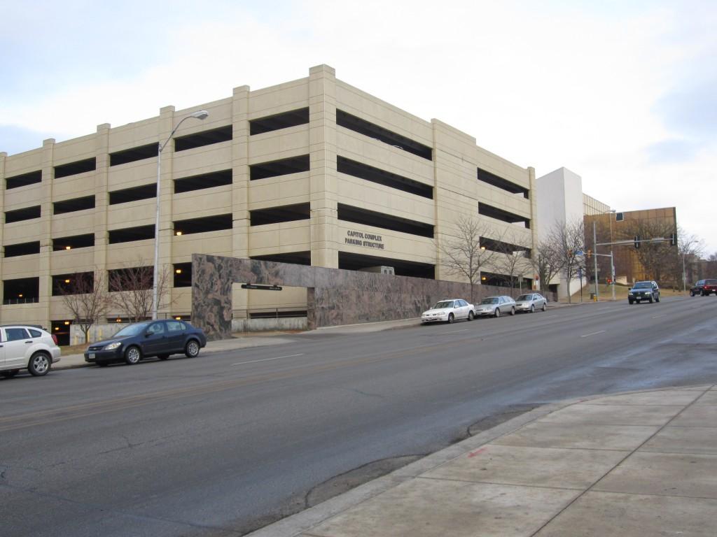 Des Moines, Iowa parking garage