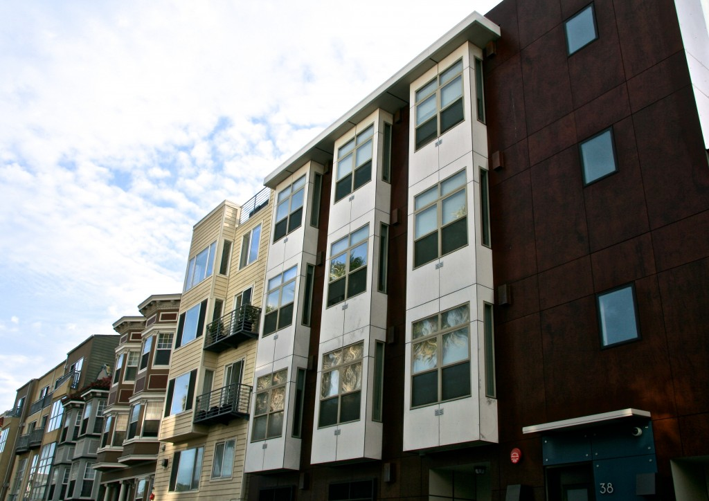 SmartSpace Micro-dwelling apartments, San Francisco, California.