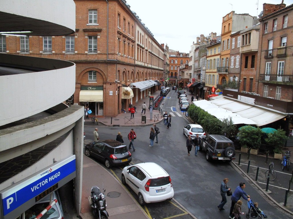 Intersection at Victor Hugo Market, Toulouse, France