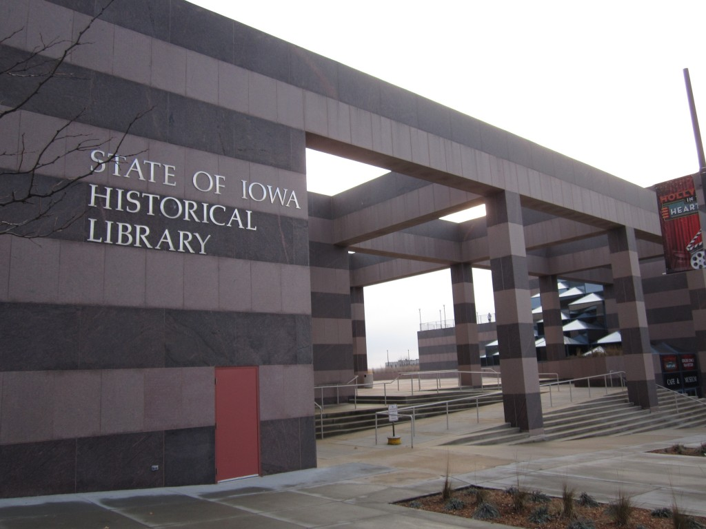 State of Iowa Historical Library, Des Moines, Iowa