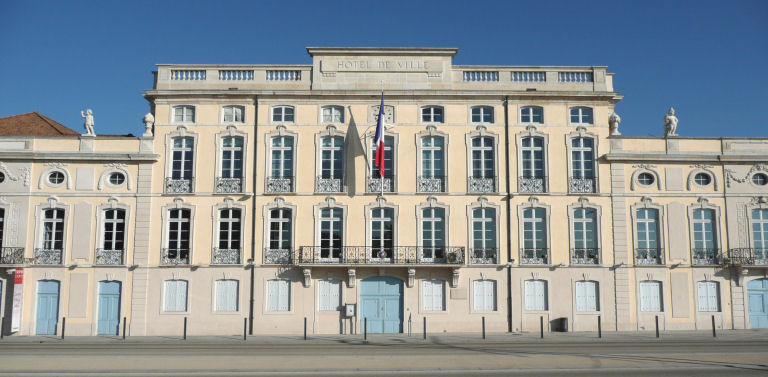 City of Mâcon Town Hall, France