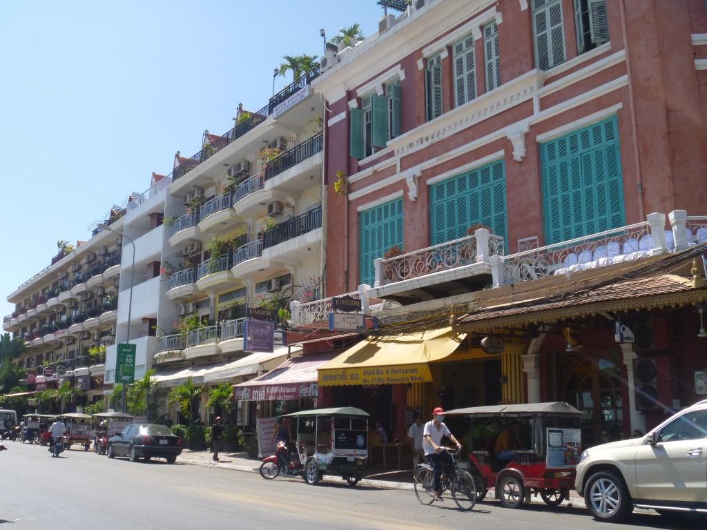 Street in Phnom Penh, Cambodia - Public spaces in Cambodia