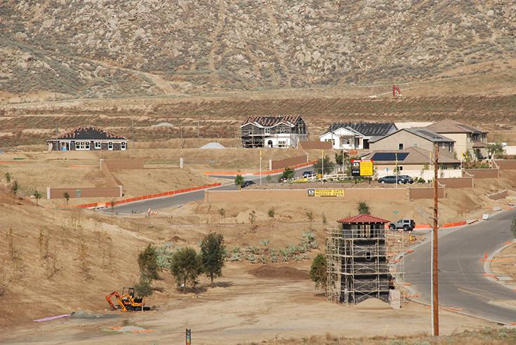 Mission Gate housing development, Riverside, CA.