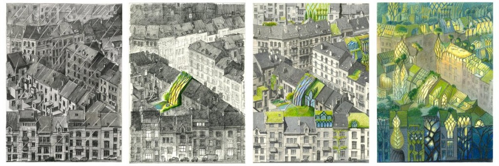Vegetal City Evolution, Paris, France