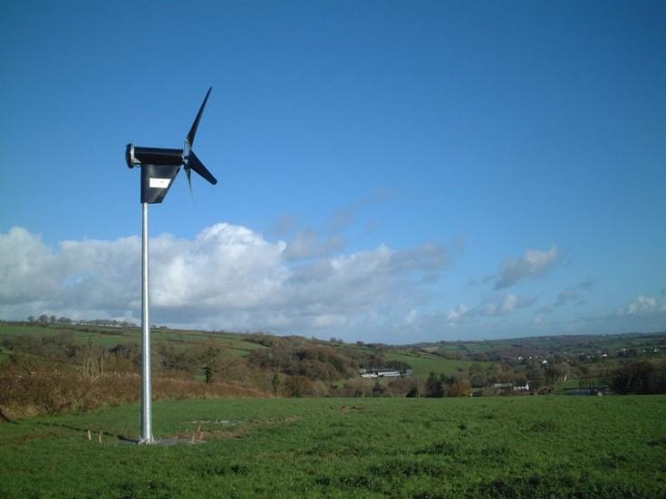 Wind Turbine, Galway, Ireland
