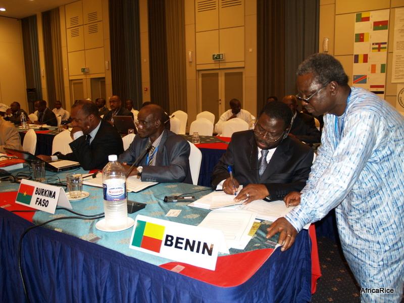 Benin at Africa Rice Council, Cotonou, Benin, Africa