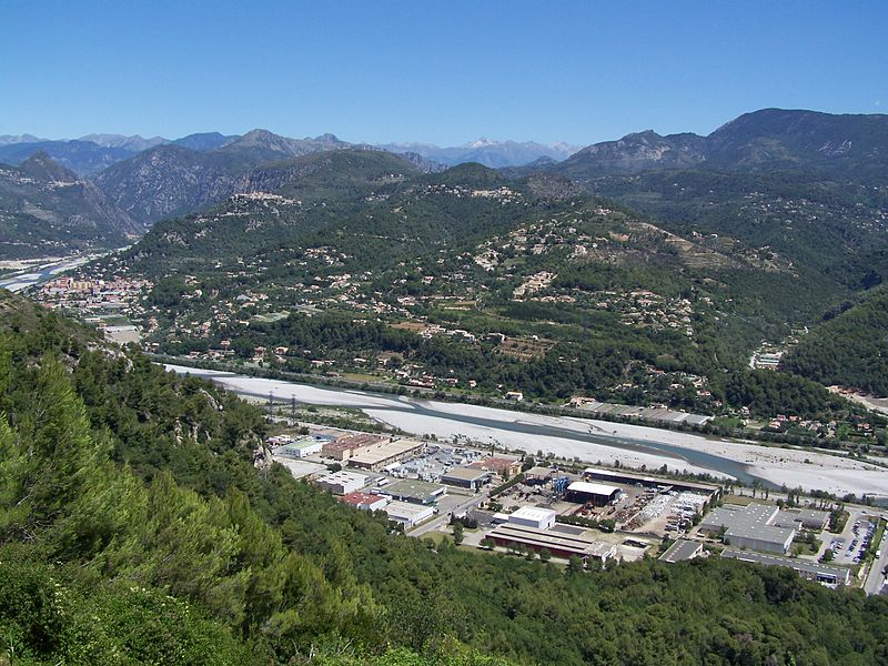 Valley of the Var Region, Carros, France