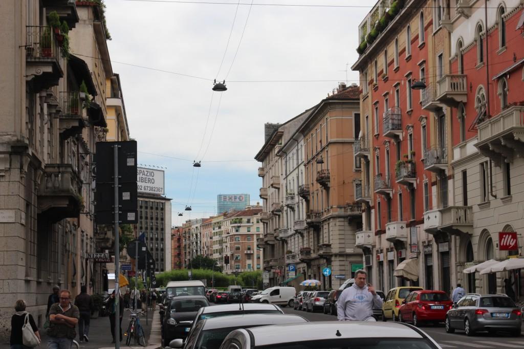 Via Porpora, Milan, Italy