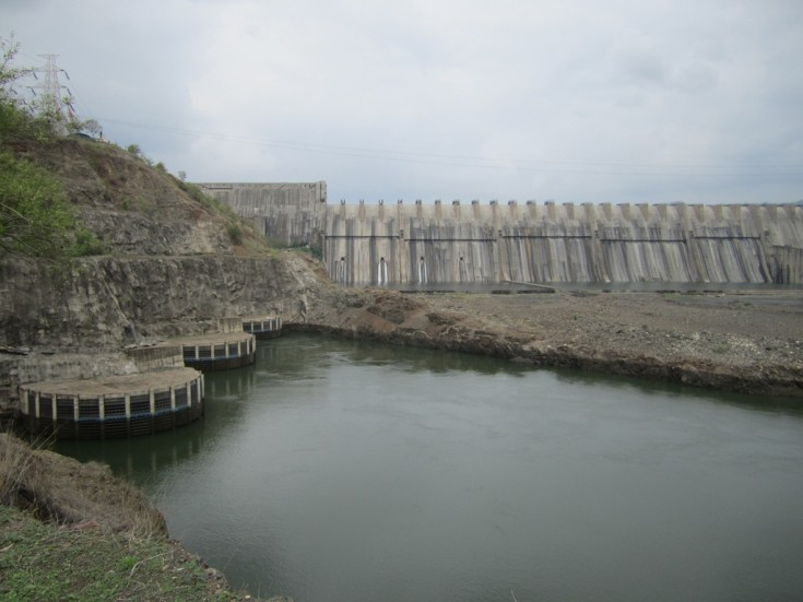 Image of Sardar Sarovar Dam in India, Mumbai, India