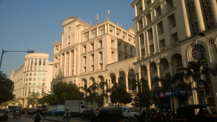 Panoramic view of Hiranandani Gardens in Powai, India